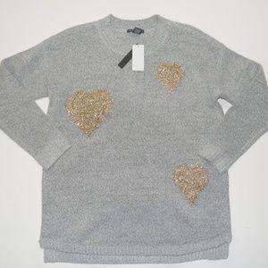 Chelsea & Theodore Heart Sweater